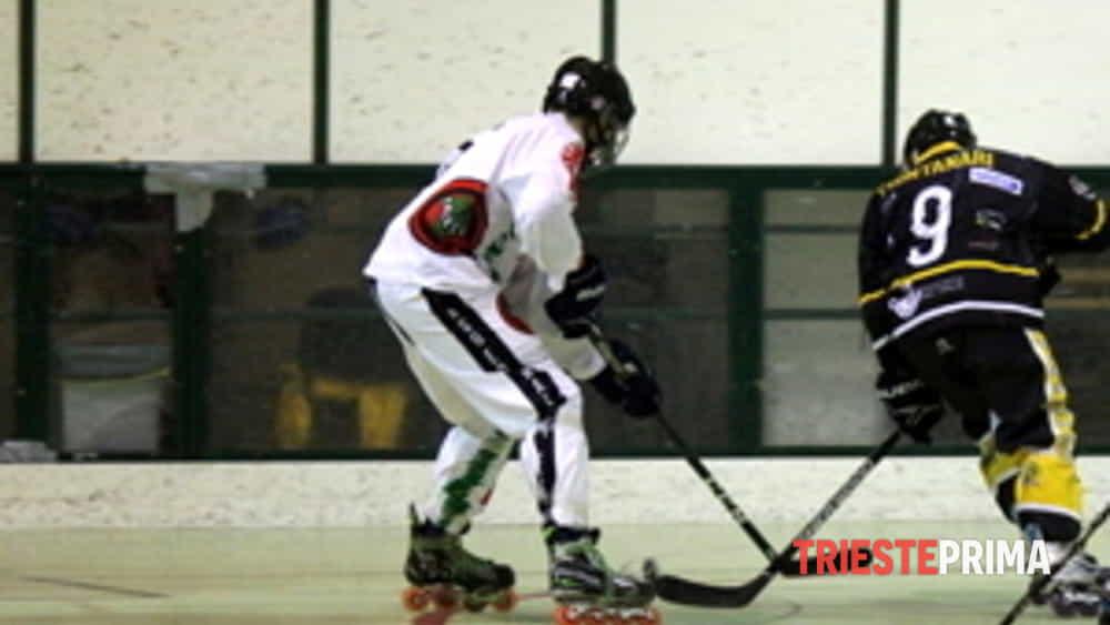hockey inline serie b edera trieste è campione d'inverno.-4