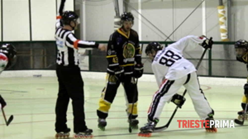 hockey inline serie b edera trieste è campione d'inverno.-2