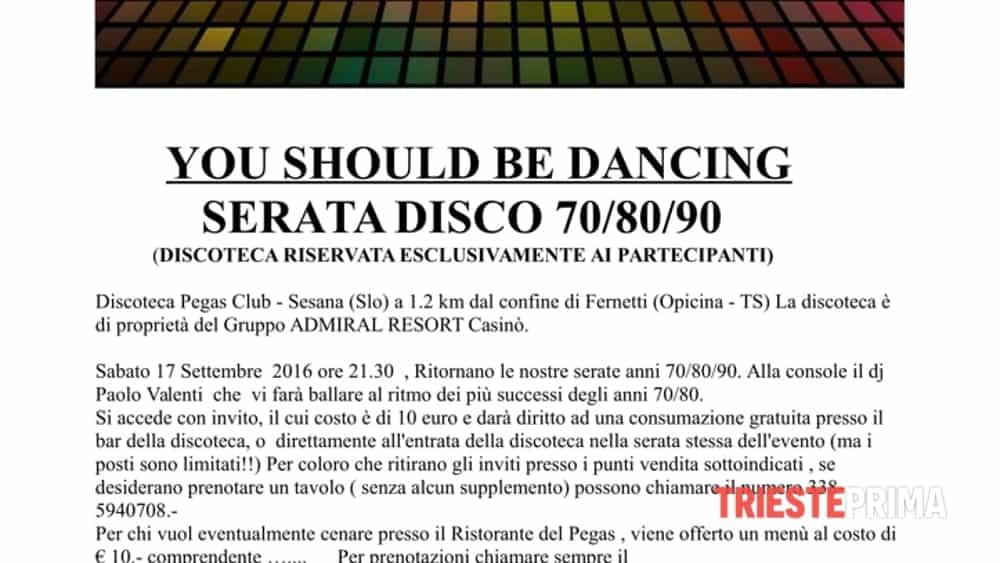 serata disco music 70/80/90 - you should be dancing --2