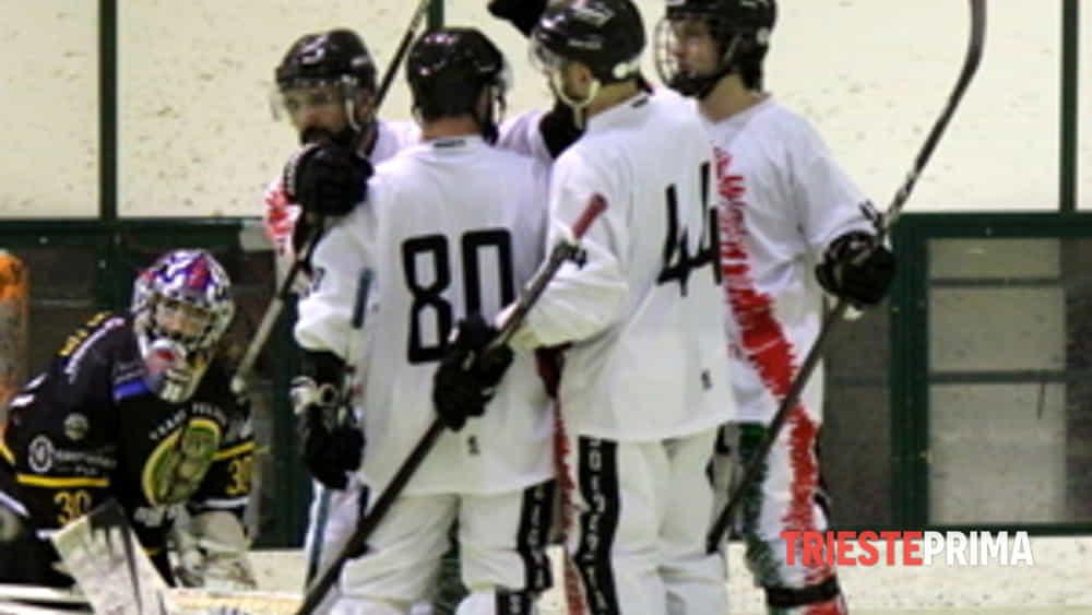 hockey inline serie b edera trieste è campione d'inverno.-7