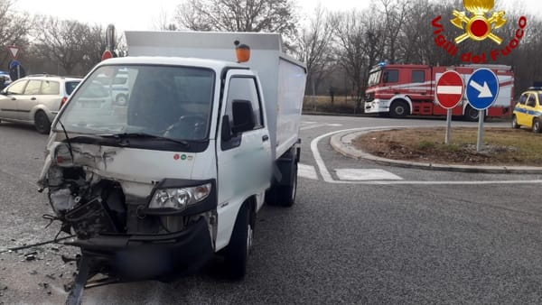 Incidente a Trebiciano, tre feriti