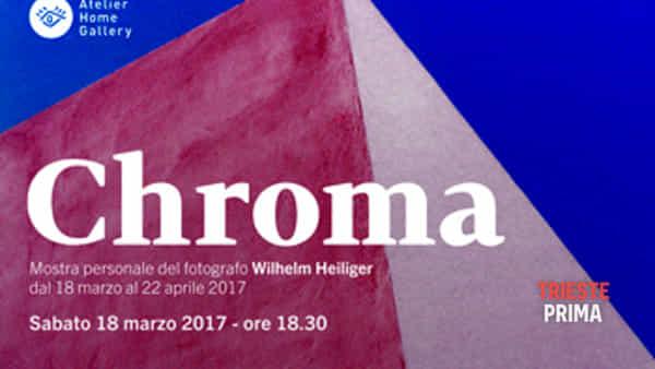 Chroma | Mostra fotografica di Wilhelm Heiliger