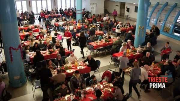 Pranzo di Natale con la Comunità di Sant'Egidio 2016