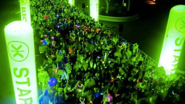 Bluenergy Electric Run: a Trieste la corsa più luminosa del pianeta