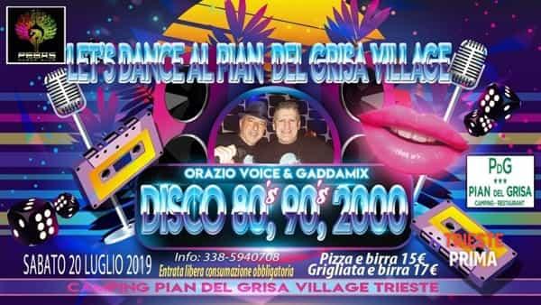 """Let's dance"": musica e divertimento al Pian del grisa village"