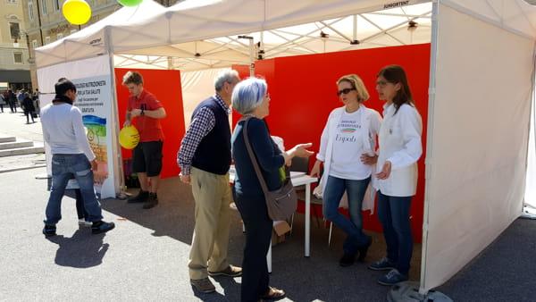 Consigli utili per l'alimentazione: nutrizionisti in piazza Sant'Antonio