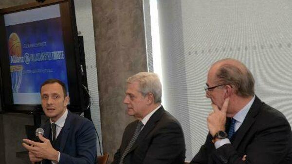 Sport: Fedriga, Allianz sponsor Pall.Ts conferma legame con territorio