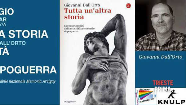 La storia dell'omosessualità, se ne parla sabato 30 maggio al Knulp