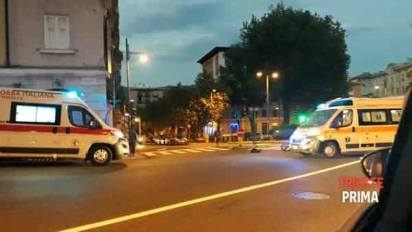 Incidente auto-scooter in piazza Vico