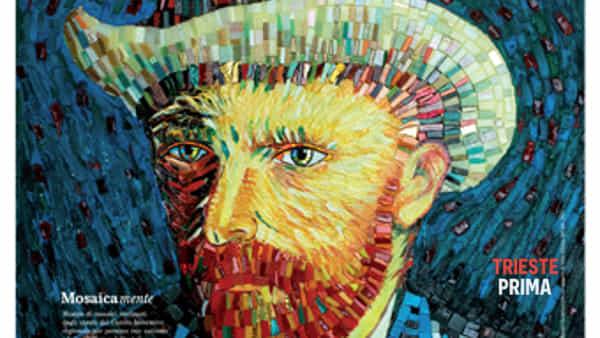 Mosaicamente: omaggio a Vincent Van Gogh fa tappa a Trieste