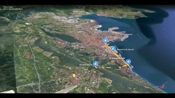 Ovovia da Porto Vecchio a Opicina: il video che illustra il percorso