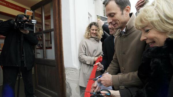 Turismo: Fedriga-Bini, infopoint Miramare favorisce tutte location Fvg