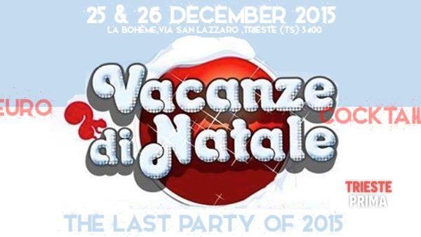 """""""Vacanze di Natale"""", doppio appuntamento alla Boheme in compagnia della crew """"LoveDisco"""""""