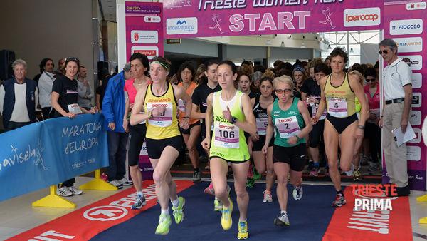 Tutto pronto, domani si corre la Trieste Women Run!