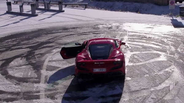 Un triestino dietro al nuovo spot per la Ferrari