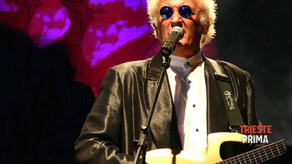 Maurizio Vandelli in concerto a Nova Gorica venerdì 29 agosto