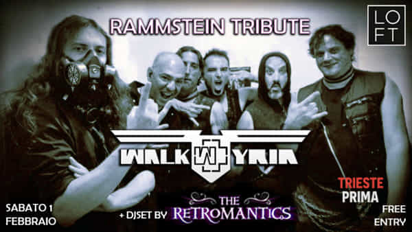Al Loft omaggio ai Rammstein con i Walkyria