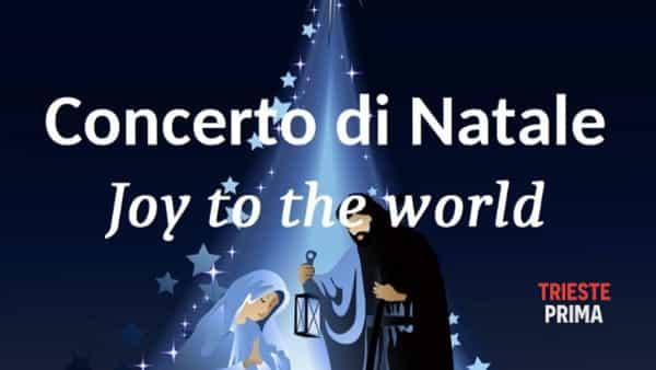 """Sabato 14 concerto di Natale """"Joy to the World"""""""