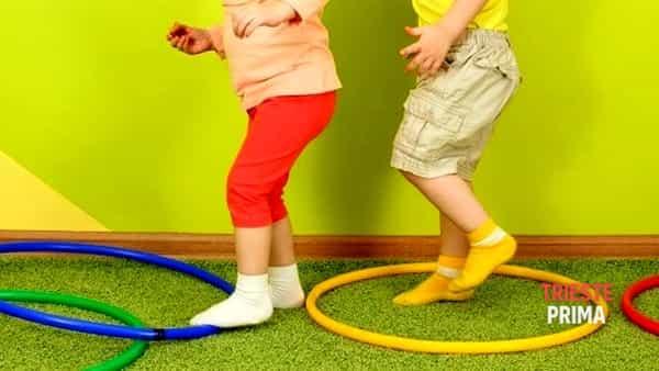 Lezione gratuita di psicomotricità per bambini