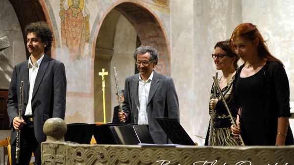 """Pro Senectute, sabato alla sala Rovis """"Flute Promenade: passeggiata flautistica nel '900"""""""
