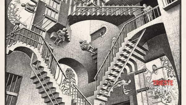 Al via la mostra di Escher: 200 opere al Salone degli Incanti