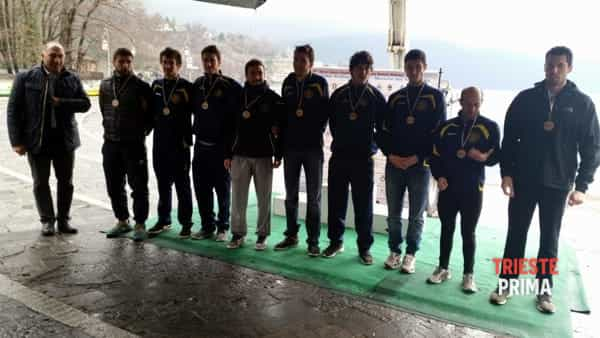 Canottaggio: triestini protagonisti all'Orta Lake Eights Challenge