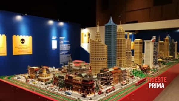 A Trieste la più grande mostra di Lego