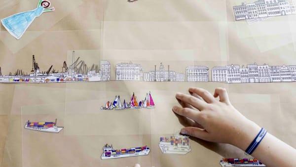 Autorità portuale di Trieste: Laboratori creativi per bambini in Porto vecchio