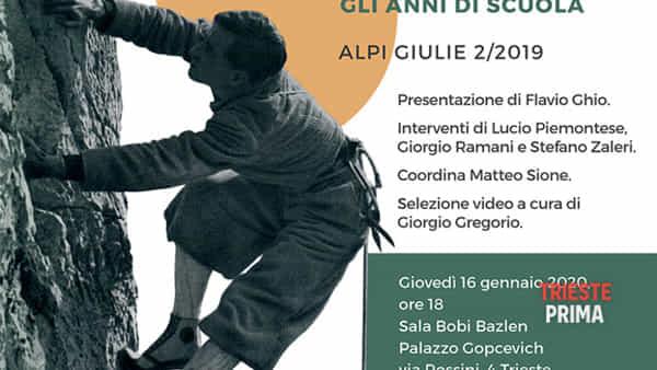"""Un libro sui 90 anni del """"modello Val Rosandra"""", la scuola che rivoluzionò l'alpinismo italiano"""