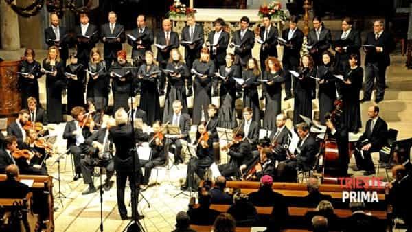 Concerto di Natale della Cappella civica a San Giusto