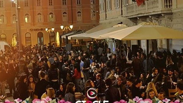 Oncircle, continuano i party in piazza Ponterosso: martedì dj set di Rini Shkembi, Simon Admas e Henry Chinaski