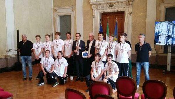 Sport: Fedriga, scudetto under 15 Pallamano Ts celebra Fvg in Italia
