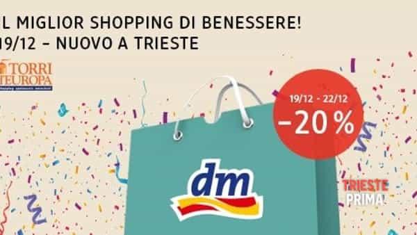 """DM drogerie markt"" sbarca alle Torri d'Europa"