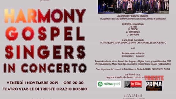 Harmony Gospel Singers in concerto al Bobbio