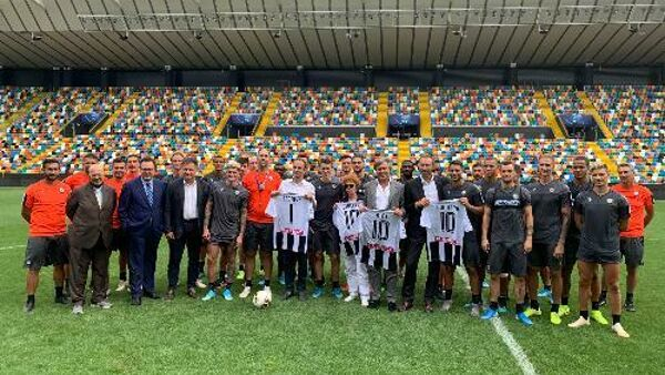 Sport: Fedriga, Udinese realtà preziosa anche per promuovere turismo