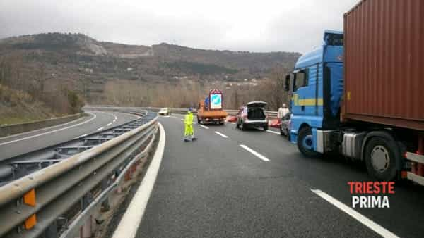 Incidente in Gvt: disagi al traffico