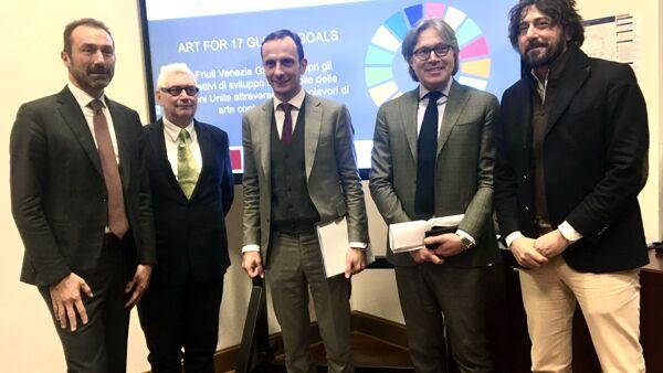 Cultura: Fedriga, con 'Art for global goals' Fvg al centro del mondo