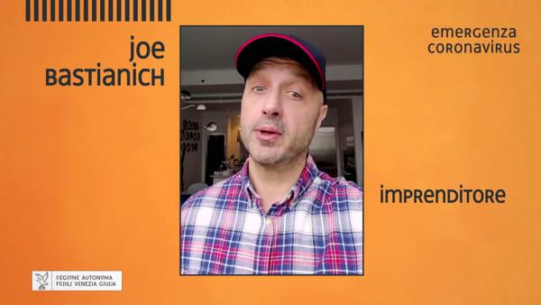 """""""Io resto a casa"""": anche Joe Bastianich nel terzo spot della Regione"""