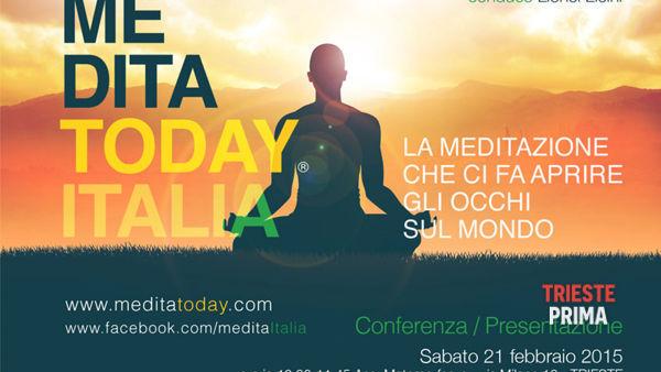 meditatoday - meditare per se stessi & meditare per il mondo