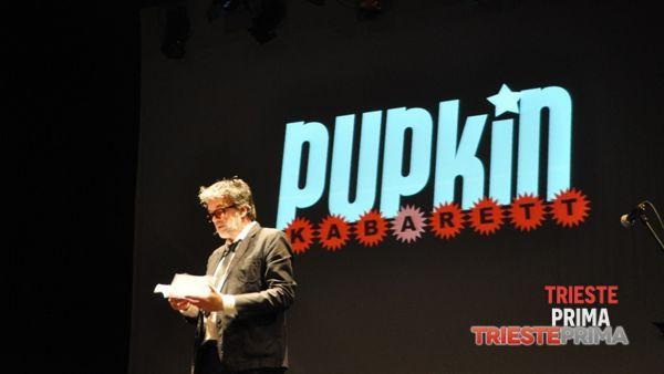 """Pupkin Kabarett sul palco del Miela con i """"ricercattori"""" dei Topi di laboratorio"""