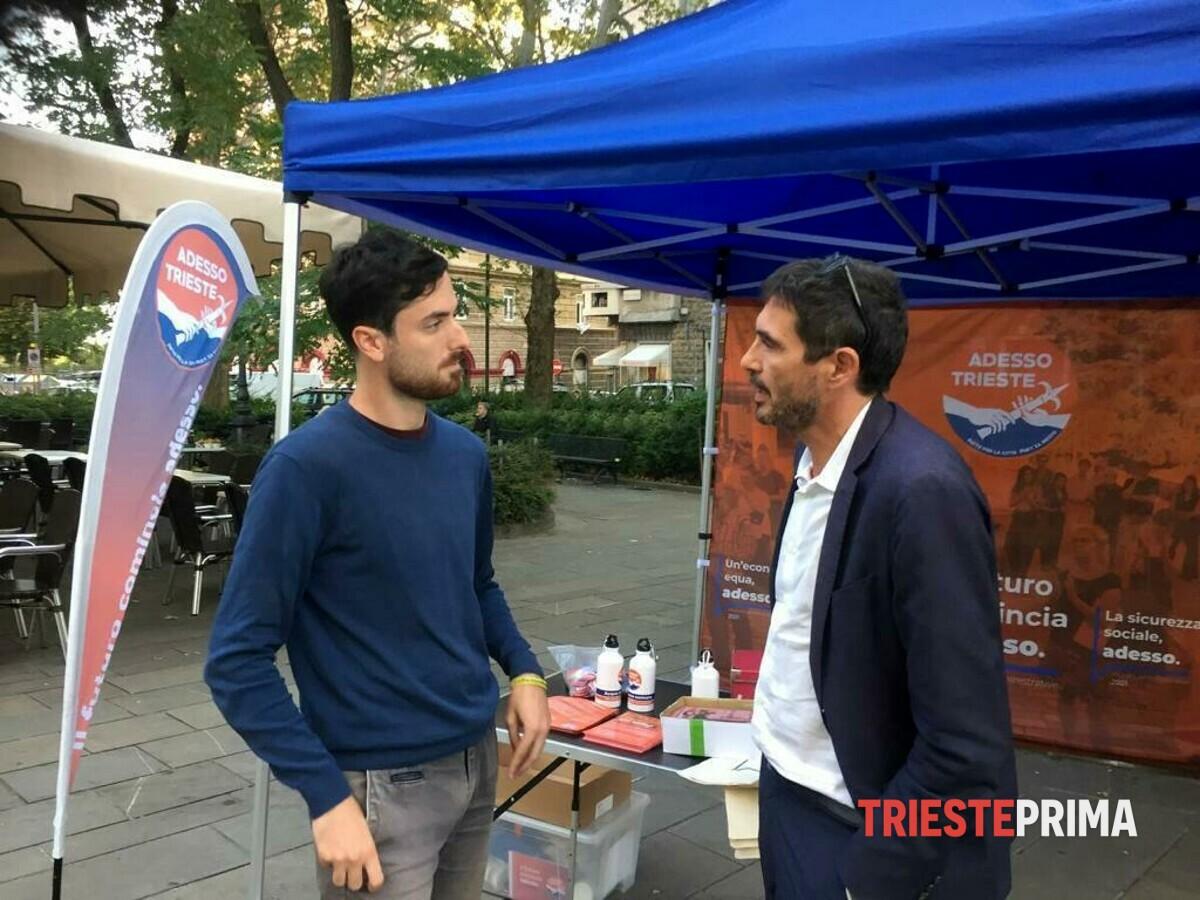 Fratoianni a Trieste a sostegno di Laterza