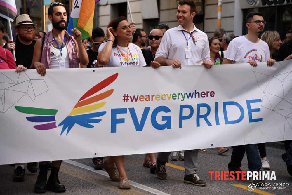 """Gorizia nega patrocinio, Fvg Pride: """"No ostentazione ma richiesta di pari diritti e dignità"""""""