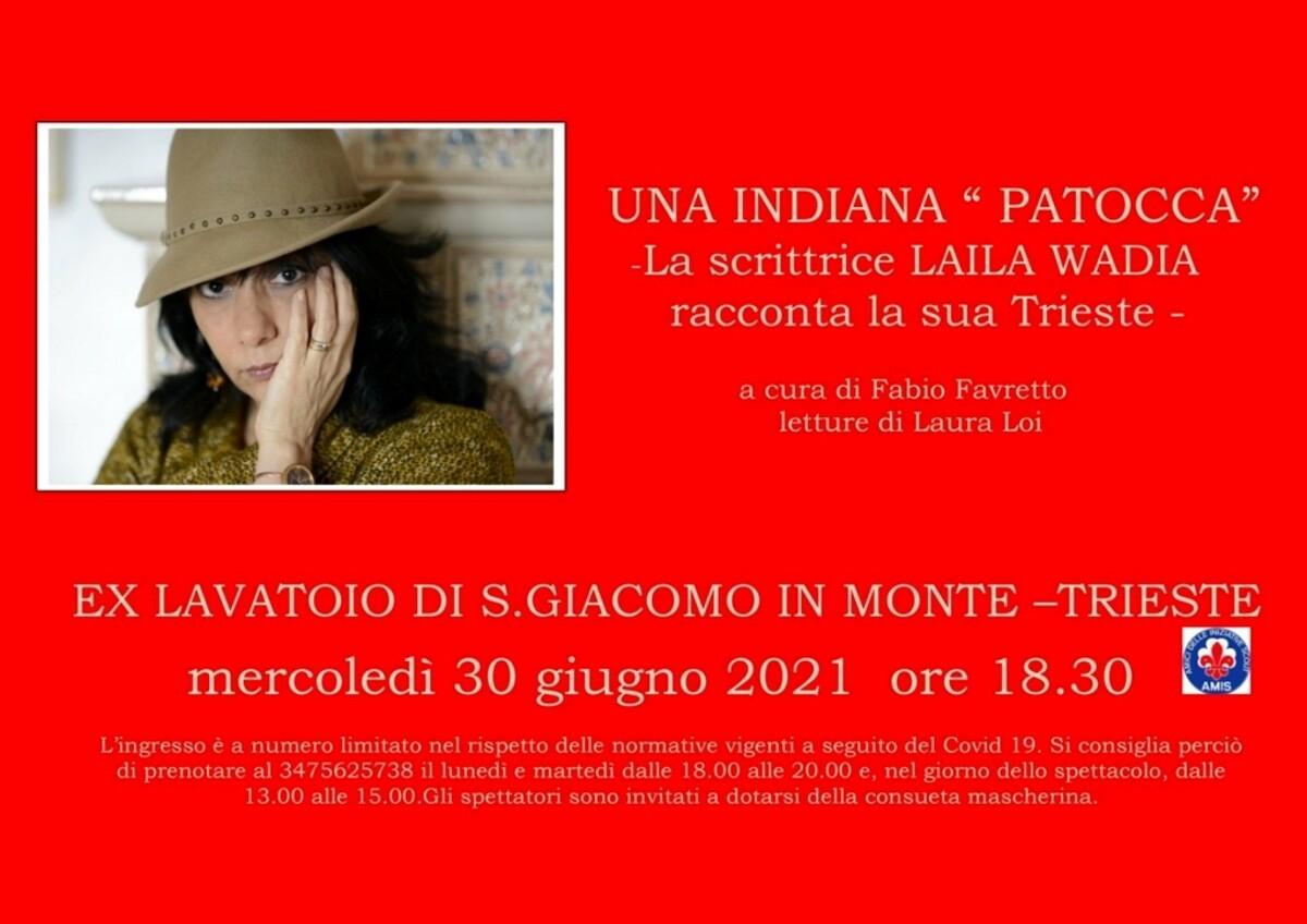 "Una indiana ""patocca"", la scrittrice Laila Wadia racconta la sua Trieste"