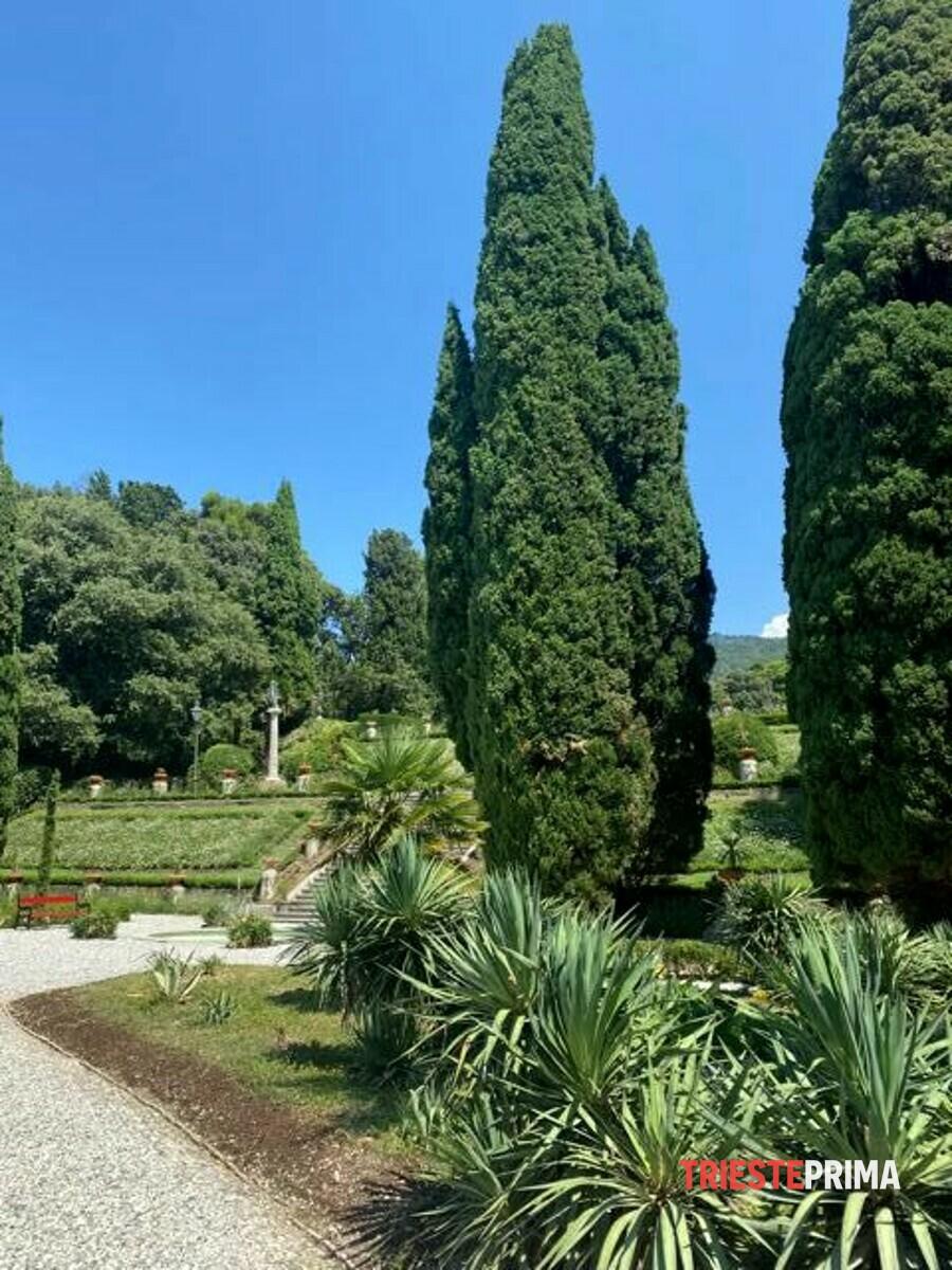 Rivive l'antica bellezza di Miramare: aperti al pubblico il Parterre inferiore e il Bagno ducale